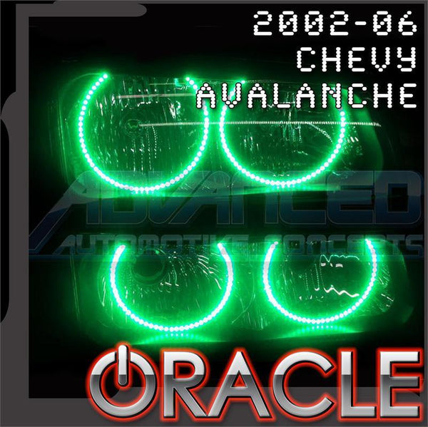2002-2006 Chevy Avalanche ORACLE Halo Kit