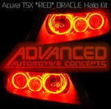 2004-2007 Acura TSX ORACLE Red Halo Kit