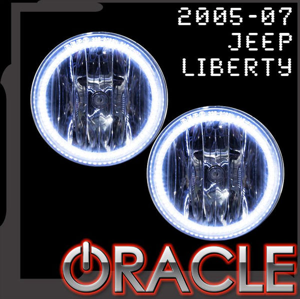 2005-2007 Jeep Liberty ORACLE Fog Light Halo Kit
