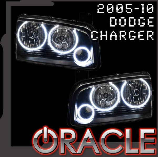 ORACLE Lighting 2005-2010 Dodge Charger LED Headlight Halo Kit
