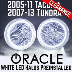 2005-11 Toyota Tacoma / 2007-13 Tundra Fog Lights - ORACLE White LED SMD Halos