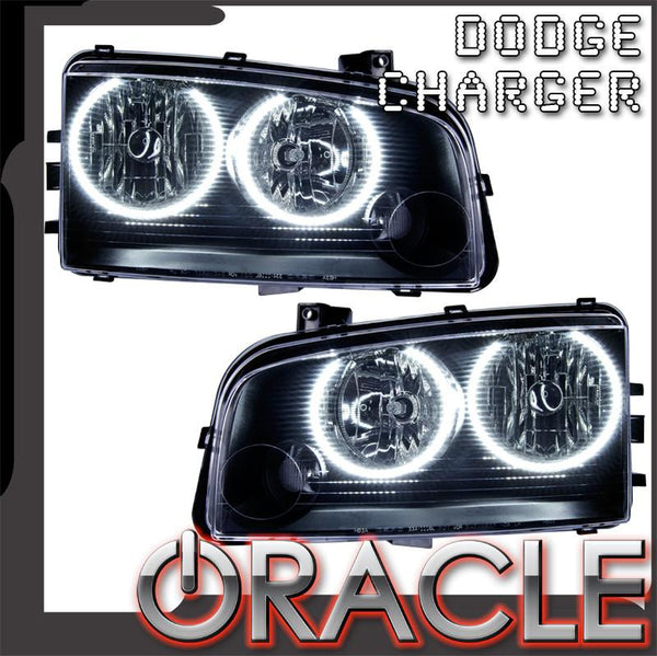 2005-2010 Dodge Charger Pre-Assembled Headlights - Non HID