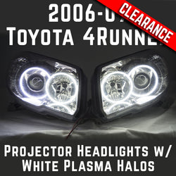2006-09 Toyota 4Runner Sport Projector Headlights // ORACLE Plasma White Halos