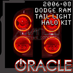 2006-2008 Dodge Ram ORACLE Tail Light Halo Kit