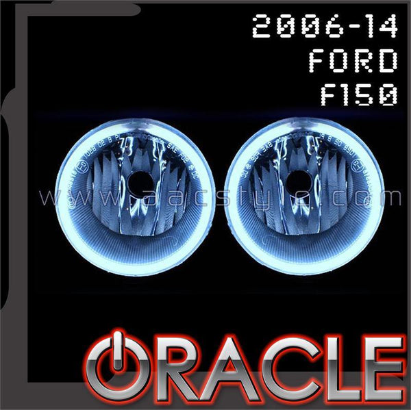2006-2014 Ford F150 ORACLE Fog Light Halo Kit