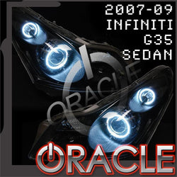 2007-2009 Infiniti G35 Sedan ORACLE Dual Halo Kit