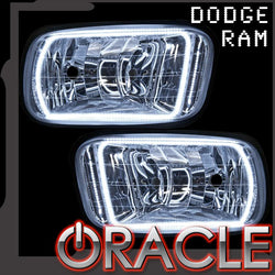 2009-2015 Ram ORACLE Fog Light Halo Kit