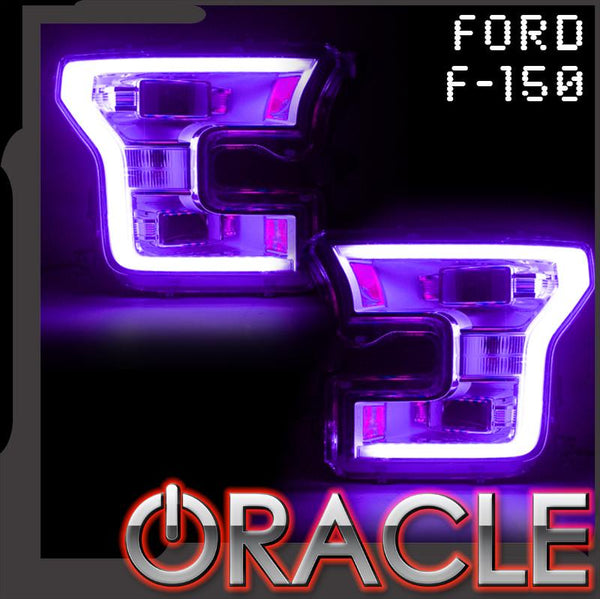 ORACLE Lighting 2015-2017 Ford F-150 ColorSHIFT® Headlight DRL Upgrade Kit