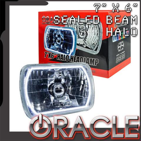 "1987-1995 Jeep Wrangler YJ ORACLE Pre-Installed 7x6"" Sealed Beam Headlight"