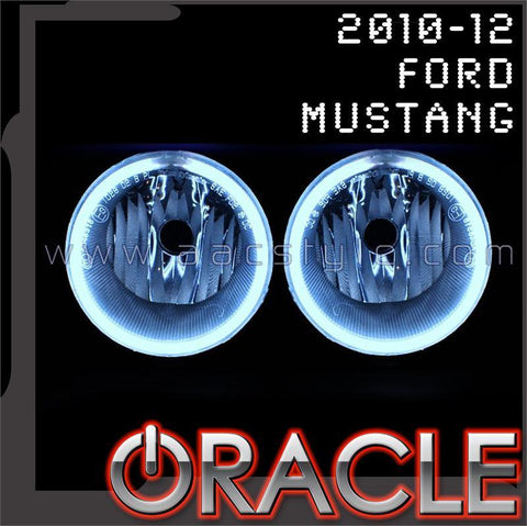 2010-2012 Ford Mustang ORACLE Fog Light Halo Kit
