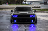 ORACLE Lighting 2008-2014 Dodge Challenger LED Fog Light Halo Kit - Standard Mount