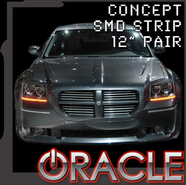 "ORACLE ""Concept"" LED Strips- 12"" Pair"