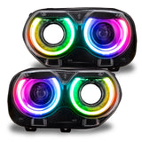 2015-2020 Dodge Challenger ORACLE ColorSHIFT RGB+W DRL Headlight Conversion Kit