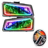 2003-2006 Chevy Silverado ORACLE ColorSHIFT Halo Kit - Square