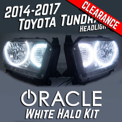 2014-17 Toyota Tundra Headlights - ORACLE LED White LED SMD Halo Kit