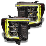 2020-2021 GMC Sierra 2500/3500 HD ORACLE ColorSHIFT RGB+W Headlight DRL Upgrade