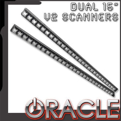"ORACLE Dual 15"" V2 LED Scanner"