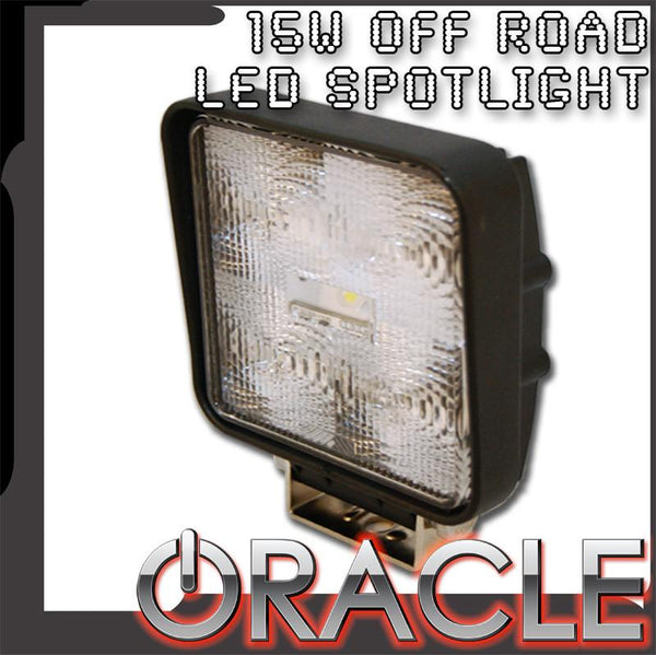 ORACLE 15W LED Square Spotlight