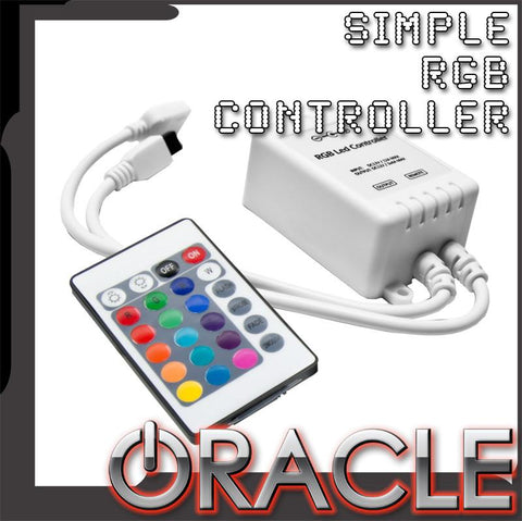 Simple RGB Controller w/ Remote