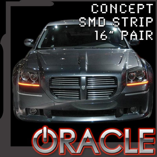 "ORACLE ""Concept"" LED Strips- 16"" Pair"