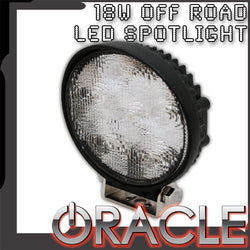 "ORACLE Off-Road 4.5"" 18 W Round LED Spot Light"