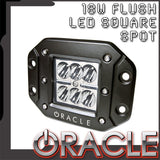 ORACLE Off-Road 18W Flush LED Square Spot Light