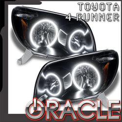 2003-2005 Toyota 4-Runner Pre-Assembled Headlights-Black-Non HID