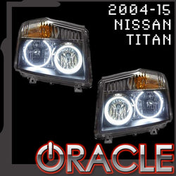 2004-2015 Nissan Titan ORACLE Halo Kit