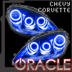 2005-2013 Chevrolet C6 Corvette ORACLE Triple Halo Headlight Kit