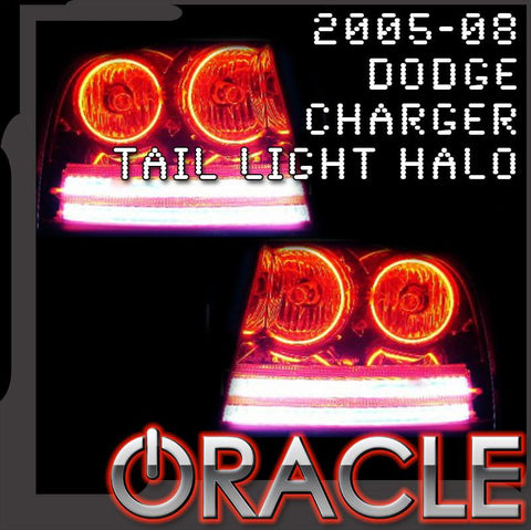 2005-2008 Dodge Charger ORACLE Tail Light Halo Kit