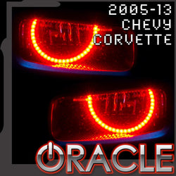 2005-2013 Chevrolet C6 Corvette ORACLE Fog Light Halo Kit