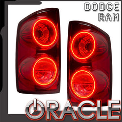 2007-2008 Dodge Ram 1500/2500/3500 Pre-Assembled Tail Lights