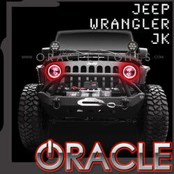 2007-2016 Jeep Wrangler JK ORACLE Halo Kit