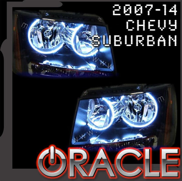 2007-2014 Chevy Suburban ORACLE Halo Kit