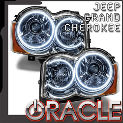2008-2010 Jeep Grand Cherokee Pre-Assembled Headlights - HID