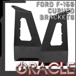 "2009-2014 Ford F-150/SVT Raptor ORACLE Curved 50"" LED Light Bar Brackets"