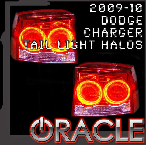 2009-2010 Dodge Charger ORACLE Tail Light Halo Kit
