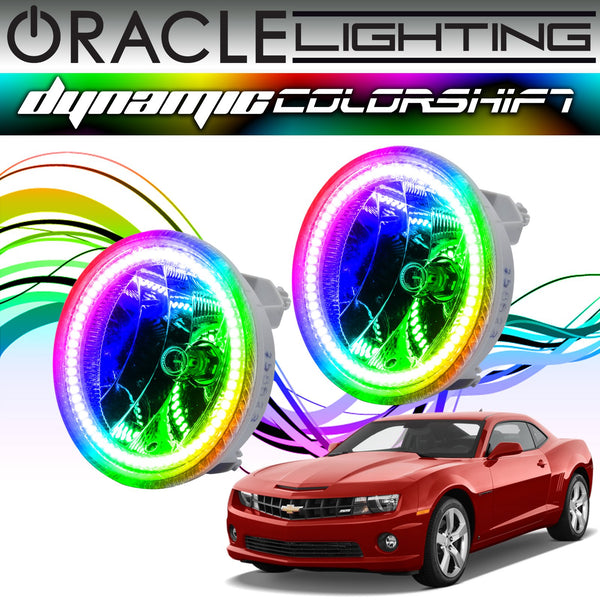2010-2013 Chevrolet Camaro ORACLE Dynamic ColorSHIFT Fog Light Halo Kit