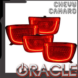 2010-2013 Chevy Camaro Pre-Assembled Tail Lights-Non RS-Afterburner 2.0