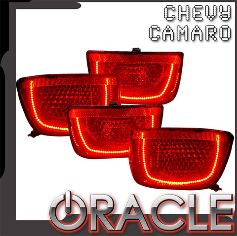 2010-2013 Chevrolet Camaro ORACLE Pre-Assembled Tail Lights-Non RS-Afterburner 2.0
