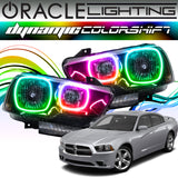 2011-2014 Dodge Charger ORACLE Dynamic ColorSHIFT Headlight Halo Kit
