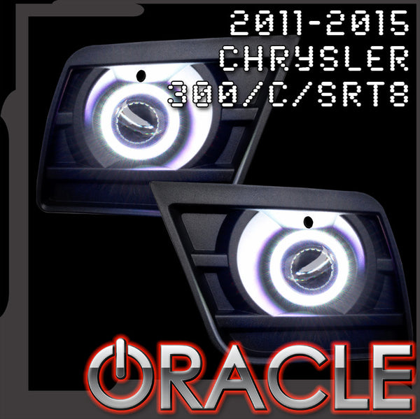 2011-2019 Chrysler 300/300C/SRT8 ORACLE LED Projector Fog Halo Kit-Waterproof