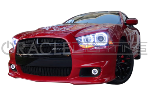 2011-2014 Dodge Charger SRT8 ORACLE LED Projector Fog Halo Kit-Waterproof