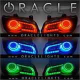 2011-2016 Chrysler 300C ORACLE ColorSHIFT Halo Kit + ColorSHIFT DRL