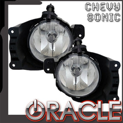2012-2013 Chevrolet Sonic Pre-Assembled Fog Lights