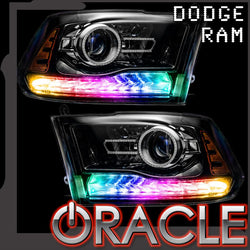 2013-2018 Dodge Ram Dynamic ColorSHIFT DRL Replacement + Turn Signals