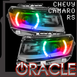 2014-2015 Chevrolet Camaro RS ORACLE ColorSHIFT Headlight DRL Kit