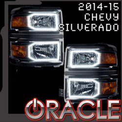 2014-2015 Chevy Silverado ORACLE Halo Kit (Non-Projector Style)