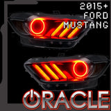 2015-2017 Ford Mustang V6/GT/SHELBY ORACLE ColorSHIFT+DRL LED Halo Kit
