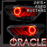 2015-2017 Ford Mustang V6/GT/SHELBY ORACLE LED Halo Kit